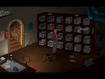 Screen ze hry Broken Sword 2.5