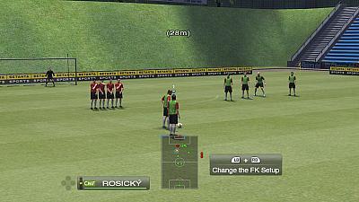 Screen ze hry Pro Evolution Soccer 2009