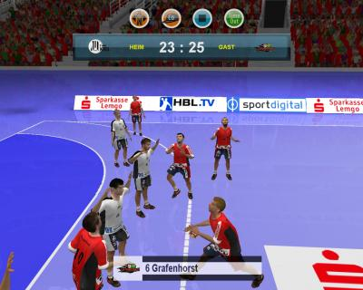 Screen ze hry Handball Manager 2009