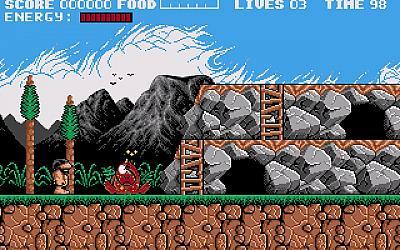 Screen ze hry Prehistoric