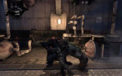Screen ze hry Batman: Arkham Asylum