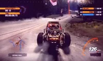 Screen ze hry Fuel