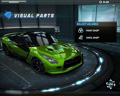 Screen ze hry Need for Speed: World Online