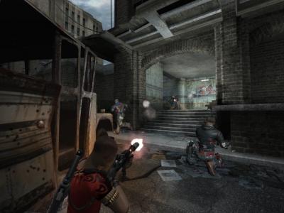 Screen ze hry CrimeCraft