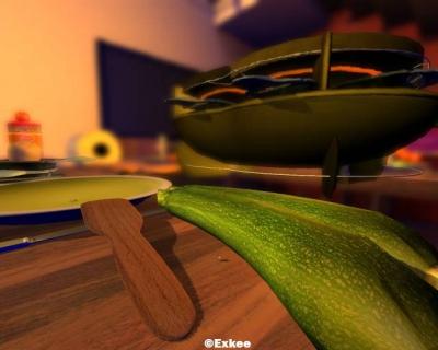Screen ze hry I-fluid