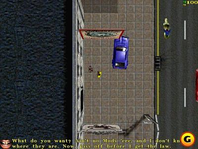 Screen Grand Theft Auto: London 1969