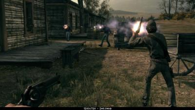 Screen ze hry Call of Juarez: Bound in Blood