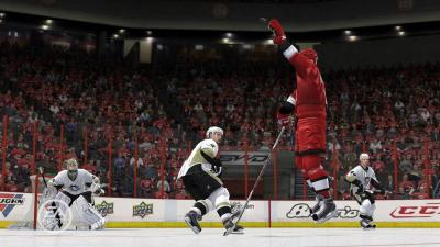 Screen ze hry NHL 10