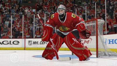 Screen ze hry NHL 10