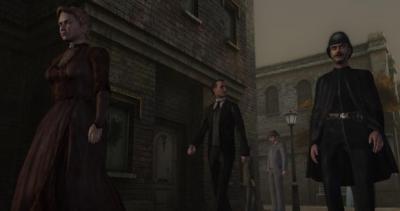 Screen ze hry Sherlock Holmes vs. Jack The Ripper