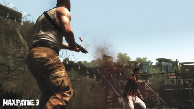 Screen ze hry Max Payne 3