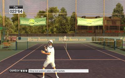 Screen ze hry Virtua Tennis 2009