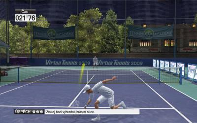 Screen ze hry Virtua Tennis 2009