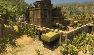 Screen ze hry Tropico 3