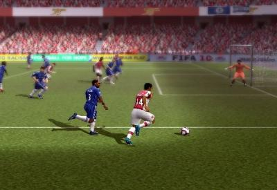 Screen ze hry FIFA Soccer 10