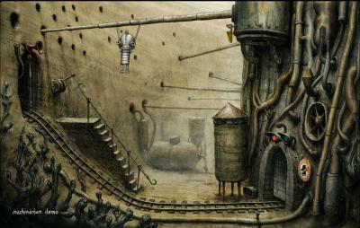 Screen ze hry Machinarium
