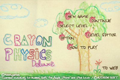 Screen ze hry Crayon Physics Deluxe