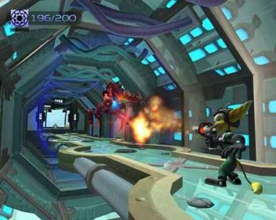 Screen ze hry Ratchet & Clank: Going Commando