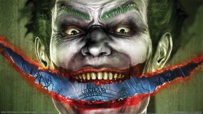 Artwork ke hře Batman: Arkham Asylum