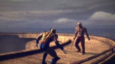 Screen ze hry X-Men Origins: Wolverine