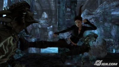 Screen ze hry Tomb Raider Underworld