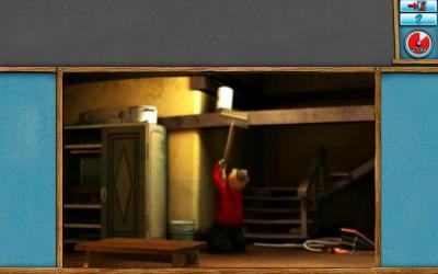 Screen ze hry Pat a Mat #1: Dovolená