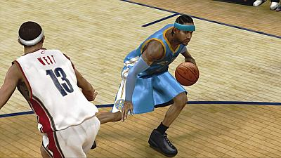 Screen ze hry NBA 2K9
