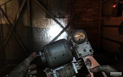 Screen ze hry Metro 2033