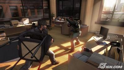 Screen ze hry Tom Clancy´s Splinter Cell: Conviction