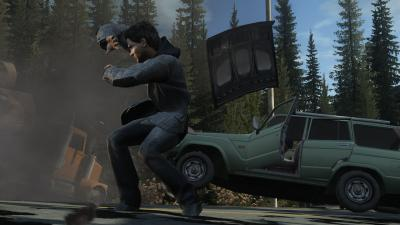 Screen ze hry Alan Wake