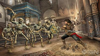 Screen ze hry Prince of Persia: The Forgotten Sands