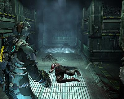 Screen ze hry Dead Space 2
