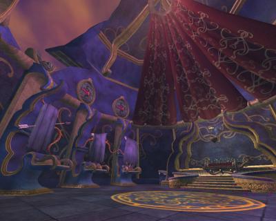 Screen ze hry Everquest II: Sentinels Fate