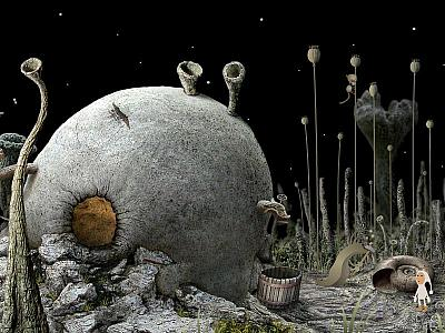 Screen ze hry Samorost 2