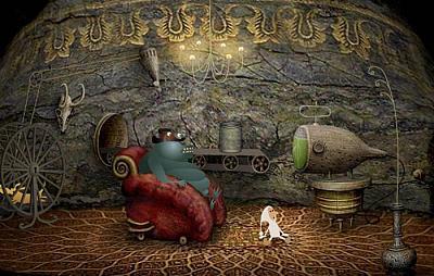 Screen ze hry Samorost 2
