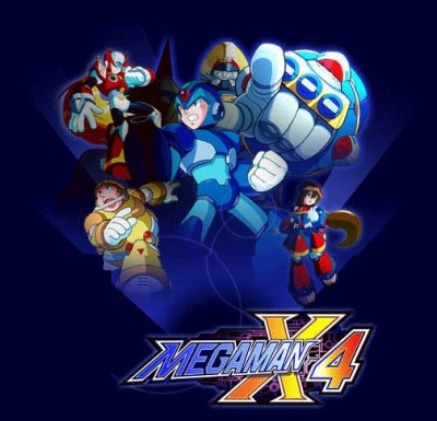 Screen Mega Man X4
