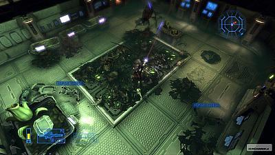 Screen ze hry Alien Breed Evolution