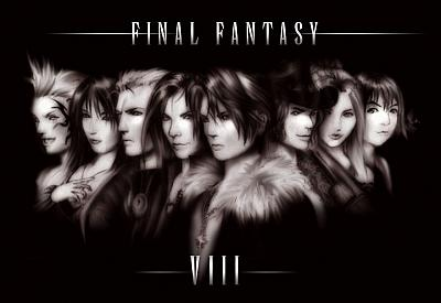 Screen ze hry Final Fantasy VIII