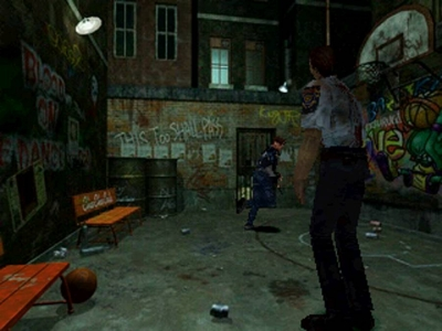 Screen ze hry Resident Evil 2