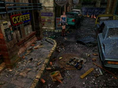 Screen ze hry Resident Evil 3: Nemesis