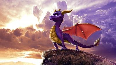 Artwork ke hře Spyro the Dragon