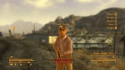 Screen ze hry Fallout: New Vegas