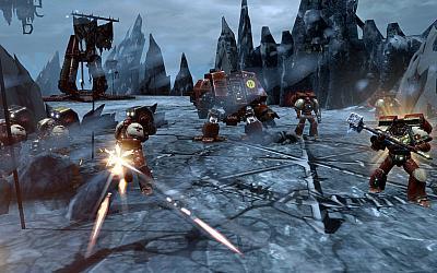 Screen ze hry Warhammer 40,000: Dawn of War II: Chaos Rising