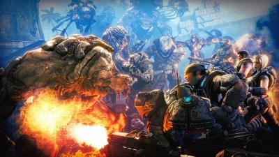 Artwork ke hře Gears of War 3