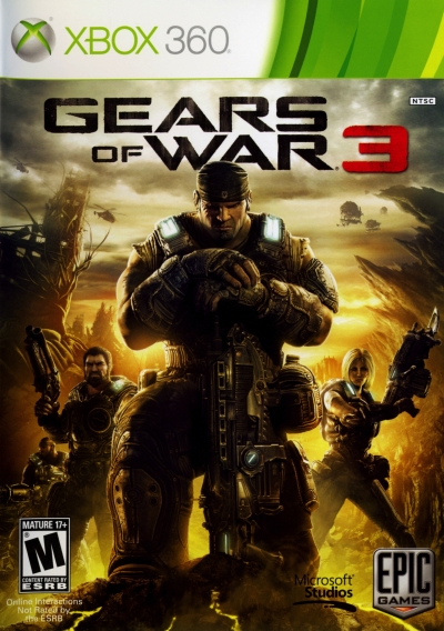 Obal hry Gears of War 3