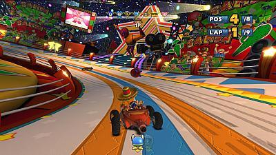 Screen ze hry Sonic & SEGA All-Stars Racing