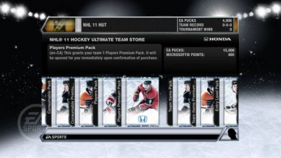 Screen ze hry NHL 11