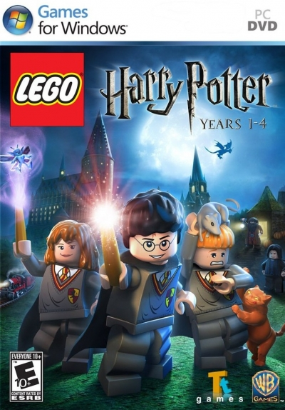 Obal hry LEGO Harry Potter: Years 1-4
