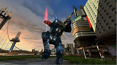 Screen ze hry Crackdown 2