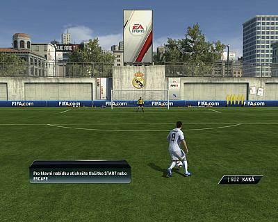 Screen ze hry FIFA 11